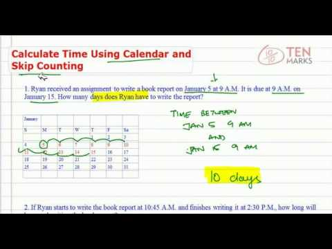 Calculate Duration using Calendar and Skip Counting