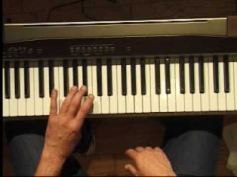 Piano Lesson - How to Play the Eb major scale (left hand)