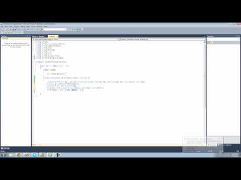 C# Beginners Tutorial - 125 - Multiple Colors in a LinearGradientBrush