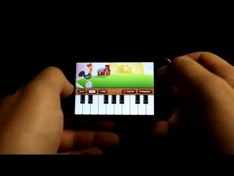 Old MacDonald Piano (iPhone/iPod for kids)