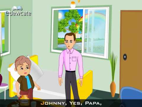 Edewcate english rhymes - Johnny Johnny yes papa