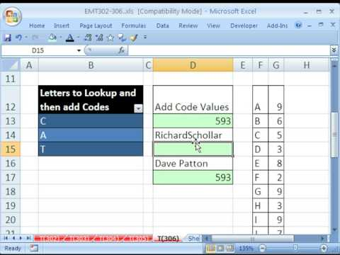 Excel Magic Trick 306: MCONCAT LOOKUP functions (CAT = 593)