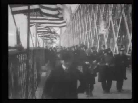 Opening the Williamsburg Bridge