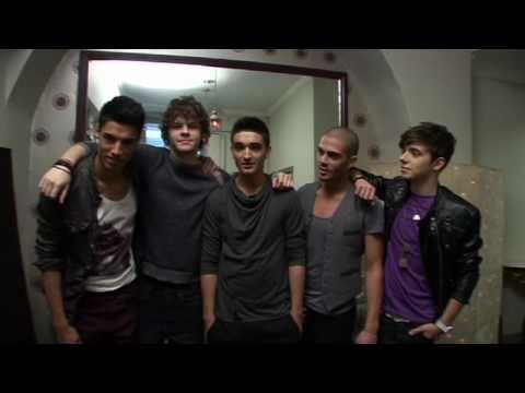 Official Red Nose Day Single -- The Wanted -- Gold Forever (behind the scenes)