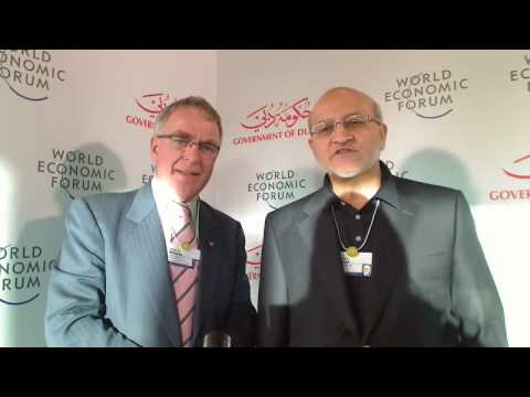 Dubai 2009 Global Agenda Summit - John Williams & Hussain Dawood 1