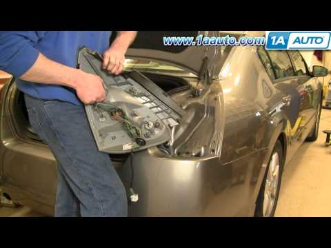 How to Install Replace Taillight and Bulb Nissan Maxima 04-08 1AAuto.com