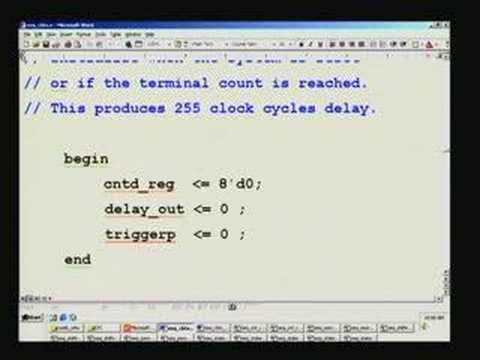Lecture 26 - Analysis of Waveforms Using Modelsim