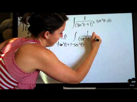 Trigonometric Substitution Example 4