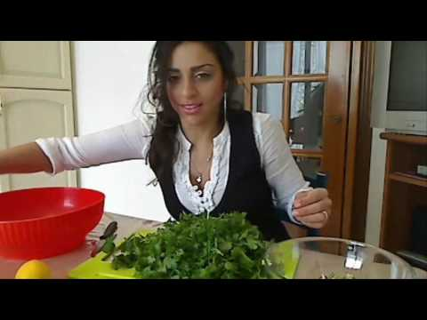 Come fare la Tabbule- How to make Tabooli Salad (PART 2)  ENGLISH+ITALIANO