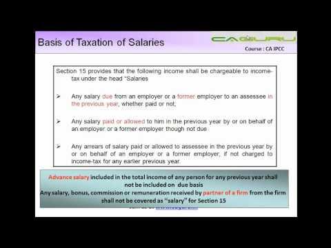 969.IPCC Income Tax   Salaries Part III