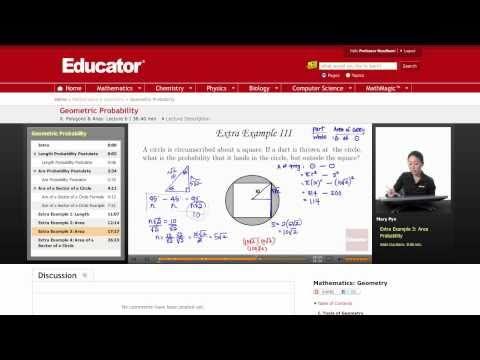 Geometry: Geometric Probability
