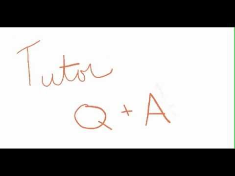 Q&A #1 Write an equation of a line with slope and intercept