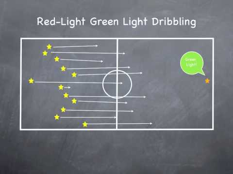 P.E. Games - Red-Light Green-Light Dribbling