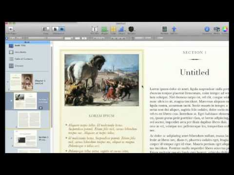 Intro to iBooks Author for Mac: Create your own e-textbooks