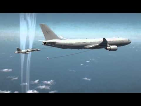 KC-30A Tanker Refuel