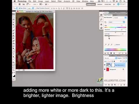 Photoshop CS5 Closed Captioned - Desaturate & Tint
