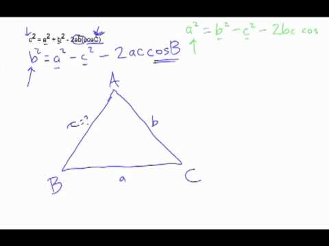 Introduction to Cosine Law