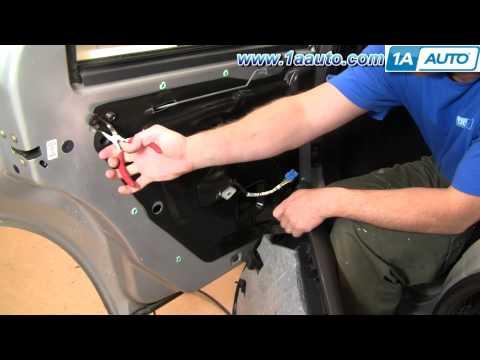 How To Install Replace Rear Inside Door Handle Dodge Stratus 01-06 1AAuto.com