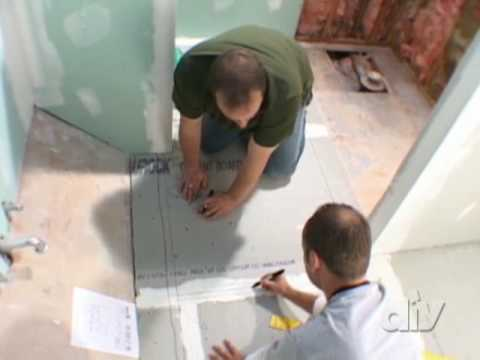 Floor Heating System Install-DIY