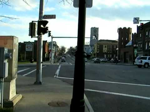 Walking Along Main Street, Geneva, New York 1 of 2