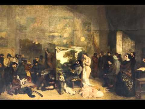 Courbet, The Artist's Studio, 1854-55