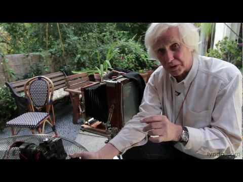 lynda.com series | Douglas Kirkland on Photography: Shooting with an 8x10 Camera