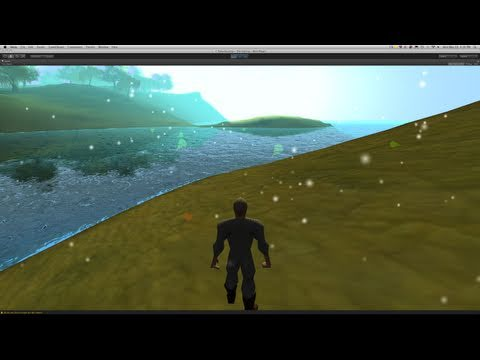 224. #Unity3d Tutorial - Particle System (Snow)
