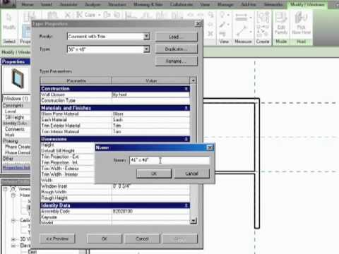 InfiniteSkills Tutorial | Revit Architecture Making And Loading New Types | Training Essentials