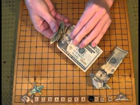 Origami Money Arrow Instructions