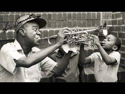 Louis Armstrong -- What a Wonderful World