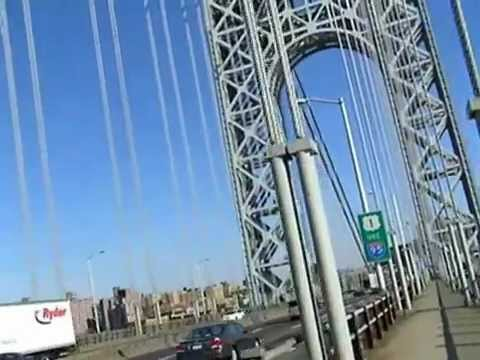 Bicycling Across George Washington Bridge
