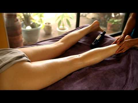HD Leg & Thigh Massage Beginners How To, Therapy Techniques & Tips Athena Psychetruth