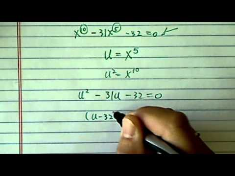 Solve Higher Order Polynomial Equation: x^10-31x^5-32=0