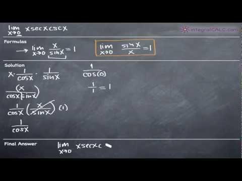 Limits - Trigonometric Ex 7