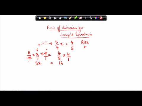 $ CBSE Class VII Maths,  ICSE Class VII Maths -   Simple equation Part 5