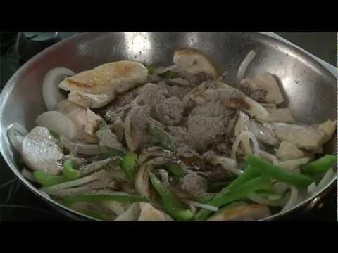 Shortcut Cooking - Chicken Fajitas