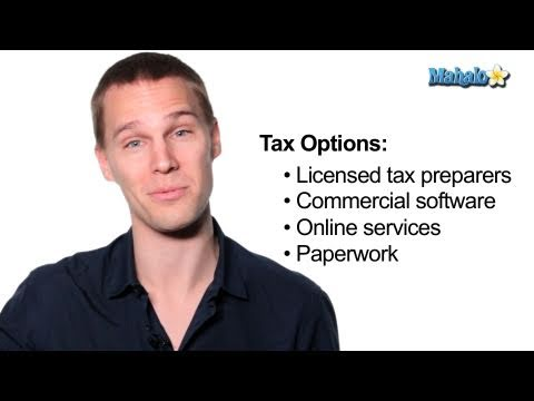 Easy Ways to File Taxes