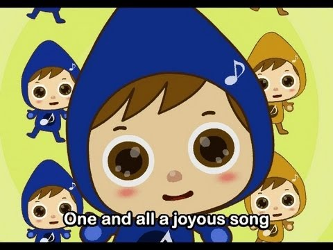 Muffin Songs - Let us sing together     nursery rhymes & children songs with lyrics   muffin songs