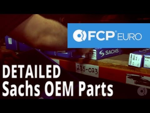 Sachs OEM Shocks and Struts Now Available at FCP Euro