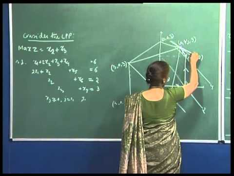 Mod-01 Lec-11 Assignment 2, progress of Simplex algorithm on a polytope, bounded variable LPP