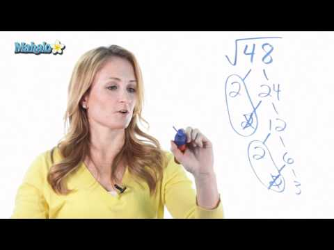 How to Simplify Radicals (ex.2)