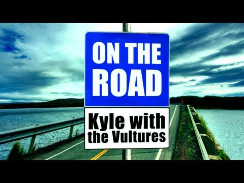 On the Road #11 Kyle with the Vultures