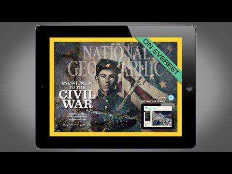National Geographic Magazine on iPad - May 2012