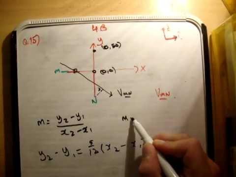 Applied Maths : LC textbook solution  Ex 4b q15
