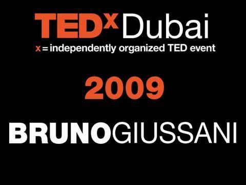 TEDxDubai - Bruno Giussani - 10/10/09