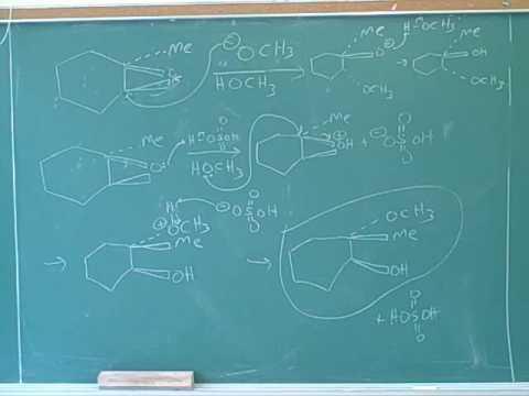 Oxacyclopropanes, also known as epoxides (13)