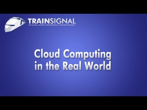 Cloud Computing in a Real World w/ VMware vCloud