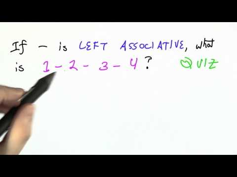 Resolving Ambiguity - CS262 Unit 4 - Udacity