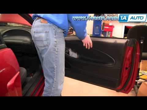 How To Install Replace Door Panel Ford Mustang 99-04 1AAuto.com