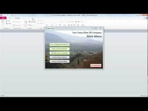 Access 2010: Introducing forms | lynda.com tutorial